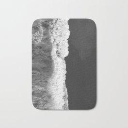 The Sea (Black and White) Bath Mat