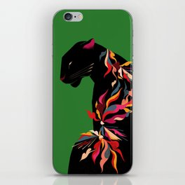 FIERCE FLOWER iPhone Skin