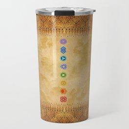 Chakras Kali   Beyond the time  Travel Mug