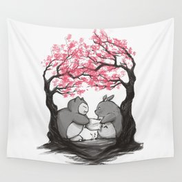 Ultimate pillow fight Wall Tapestry