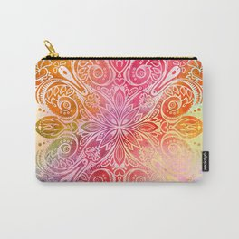 Mandala 01: Exuberance Carry-All Pouch