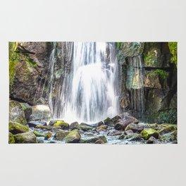 waterfall. Rug