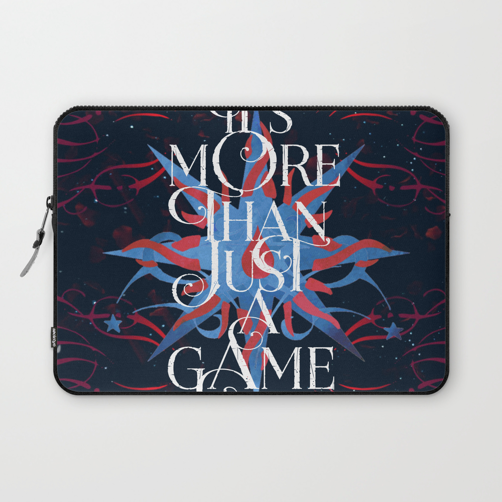 It's More Than Just A Game- Caraval Laptop Sleeve LSV8981089