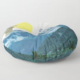 Moving Mountains Floor Pillow