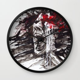 The Pain of Cluster Headache Wall Clock