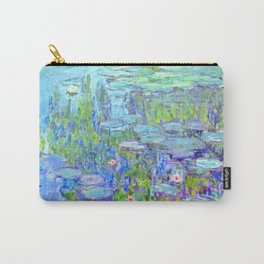 Water Lilies monet : Nympheas Carry-All Pouch