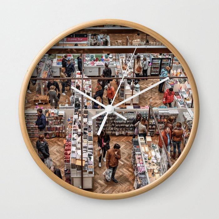 Shopping Labyrinth Wall Clock