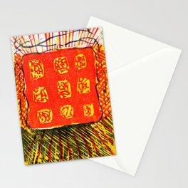 Sun Shining Woodcut Stationery Cards