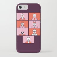 wes anderson iPhone & iPod Cases featuring Bill x Wes by Spencer Frühling
