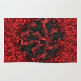 Ravens and Crows Rug