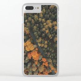 Autumn Passage Clear iPhone Case