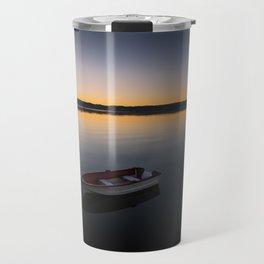 Sunrise over Knysna Lagoon in Western Cape, South Africa Travel Mug