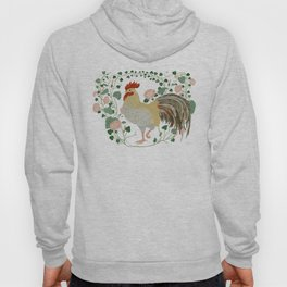 Rooster and morning glory Hoody