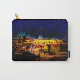 Fractal Prague castle glow UV Carry-All Pouch