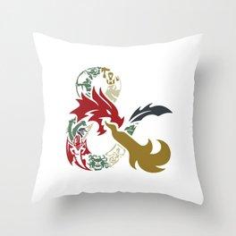 Dungeons & Dragons Throw Pillow