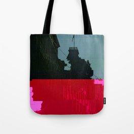 Trieste Glitch 01 Tote Bag