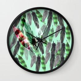 Free falling Wall Clock