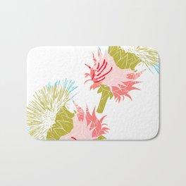 Pure flower Bath Mat