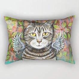 Bobcat Angel by Robynne Rectangular Pillow