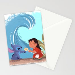 Lilo & Stitch Stationery Cards