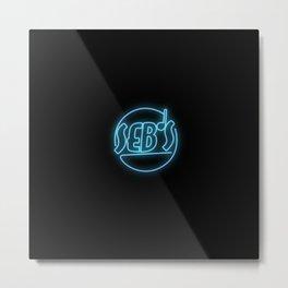 Seb's Metal Print