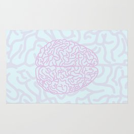 Pastel Brain Rug