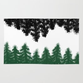 Lost in Thought (green) Rug
