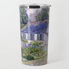 Vincent Van Gogh Houses At Auvers Travel Mug