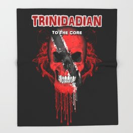 To The Core Collection: Trinidad & Tobago Throw Blanket