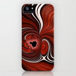 Heart of the Mandelbrot - Fractal Art iPhone Case