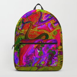 Rainbow Snakes Backpack
