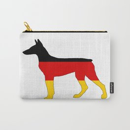 German Flag - Dobermann Pinscher Carry-All Pouch