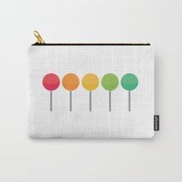 Rainbow lollypops Carry-All Pouch