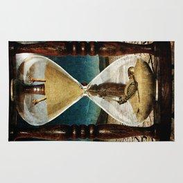 Sands of Time ... Memento Mori Rug