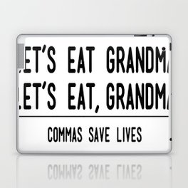 Let's Eat Grandma - Commas Save Lives Laptop & iPad Skin