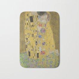 The Kiss - Gustav Klimt Bath Mat