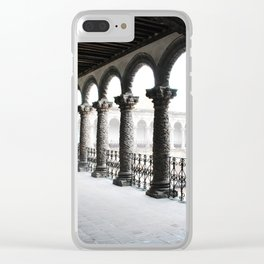 architecture 9 Clear iPhone Case