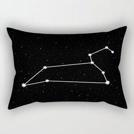 Leo Astrology Star Sign Rectangular Pillow