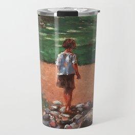 Rencontre au parc Travel Mug
