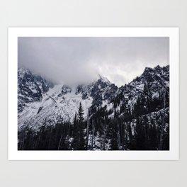 Lofty Mountain Grandeur Art Print