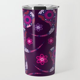 Paisley background № 20 Travel Mug