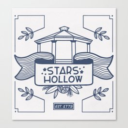 Stars Hollow Tourism Committee Canvas Print