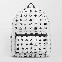 Zodiac killer Backpack