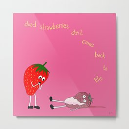 fate has never been kind to the tenderhearted. Metal Print