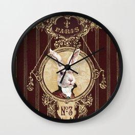 Chocolate rabbit Wall Clock