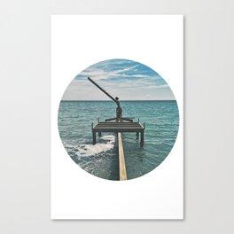 WAAVES Canvas Print