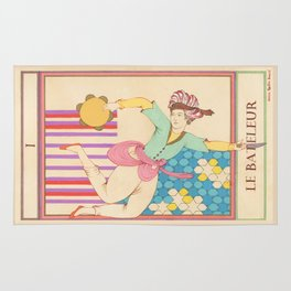 Tarot Card-The Juggler-Le Bateleur Rug