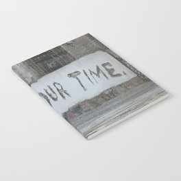 Now is our time Notebook