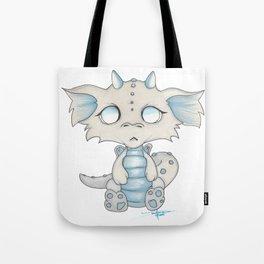 White Dragon Chibi Tote Bag