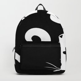 Ying Yang Cats - Black & White Backpack